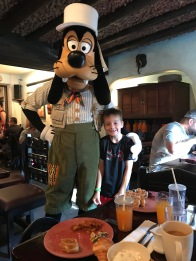 Johnathon and Goofy.