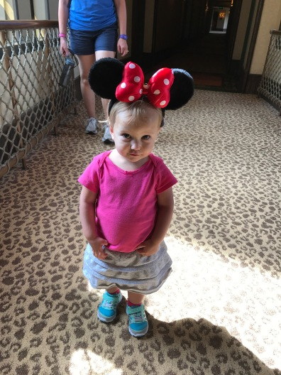 Madelyn LOVED her Minnie ears